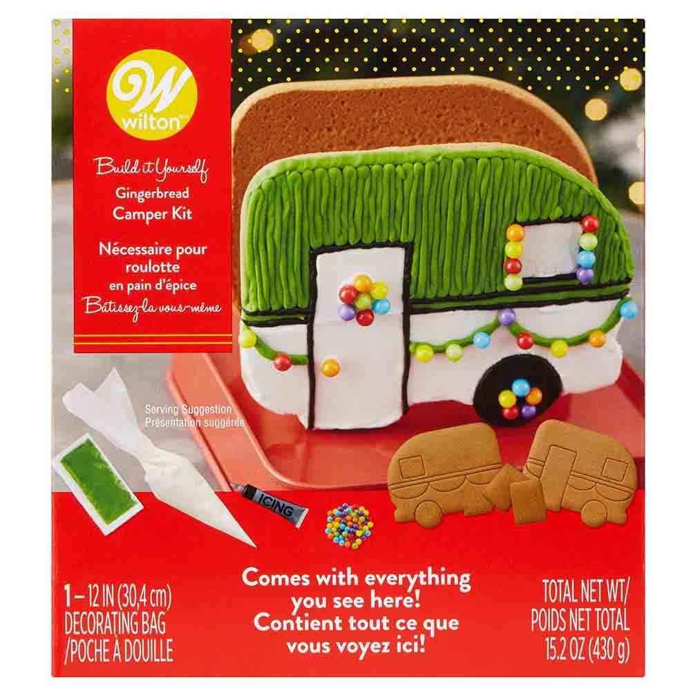Gingerbread Camper Kit