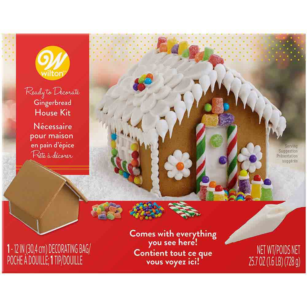 Petite Gingerbread House Kit