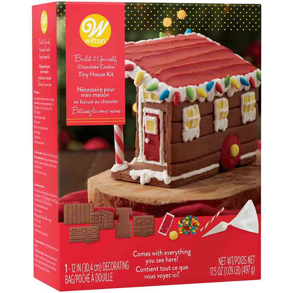 Chocolate Cookie Tiny House Kit