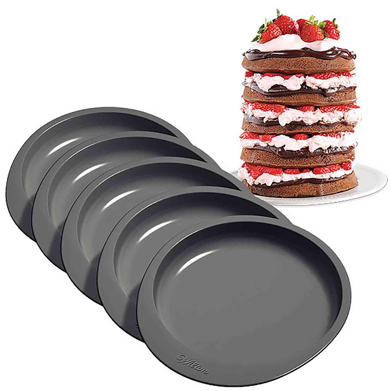 Multi Layer Cake Pan Set