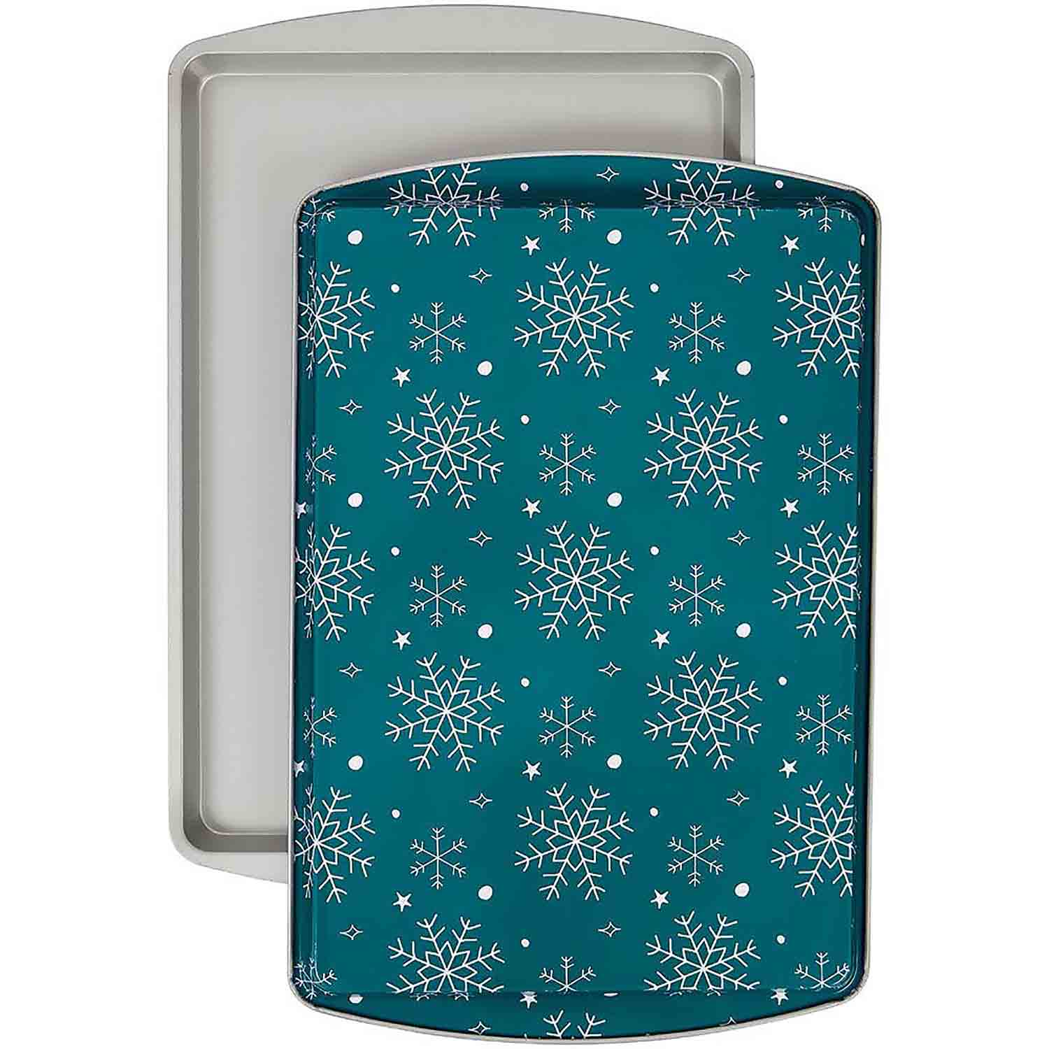 Snowflake Cookie Sheet Set