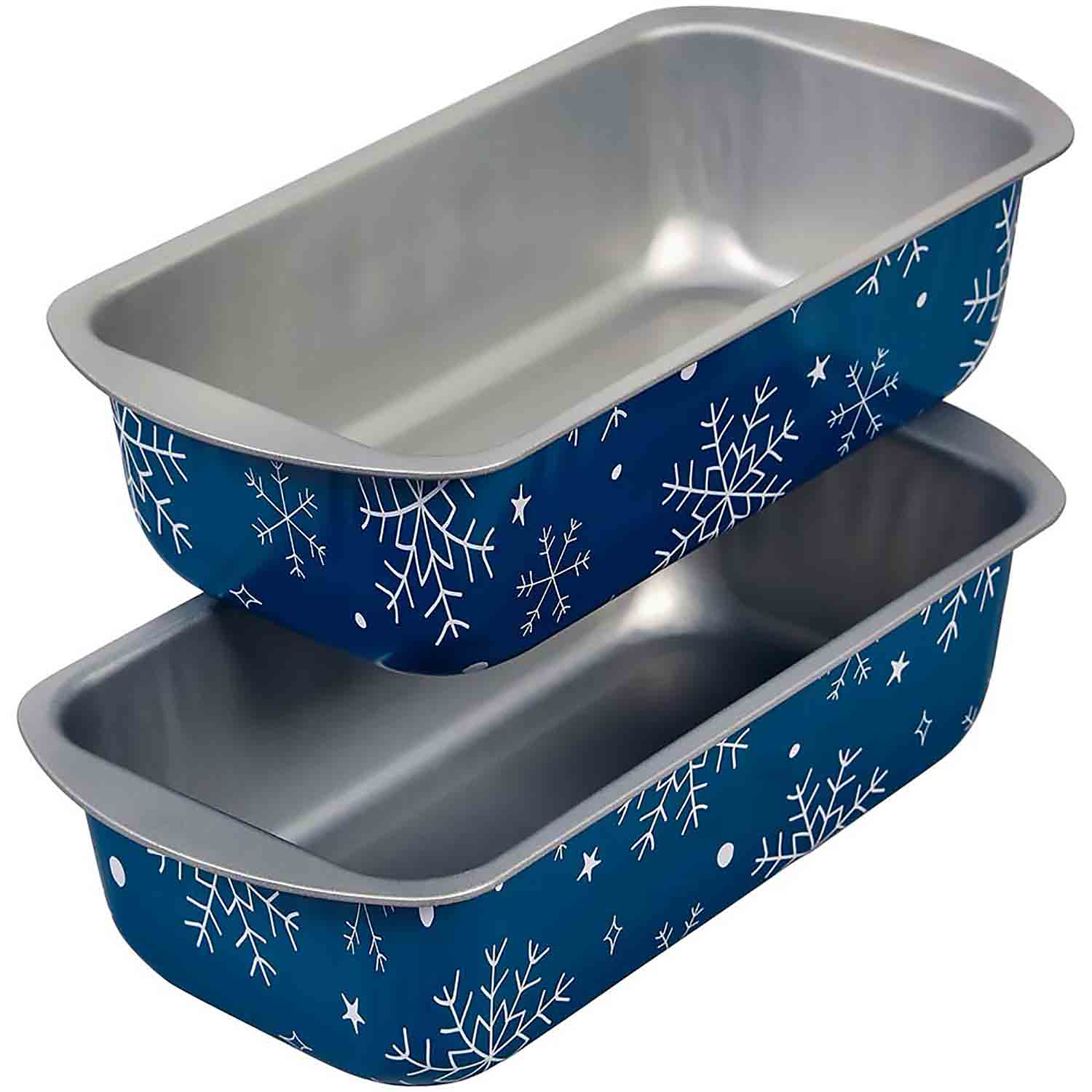 Snowflake Loaf Pan Set