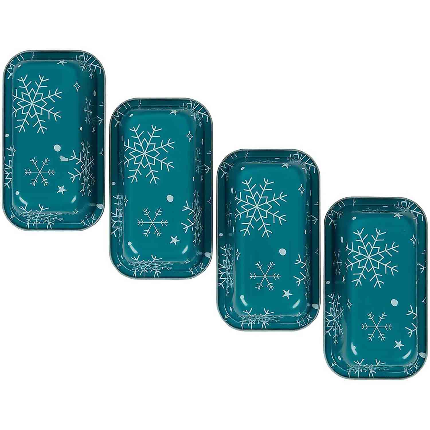 Snowflake Mini Loaf Pan Set