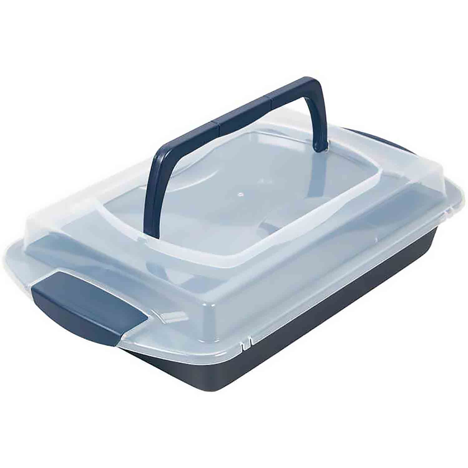 Cake Pan with Lid Set