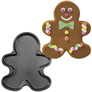 Gingerbread Boy Cookie Pan