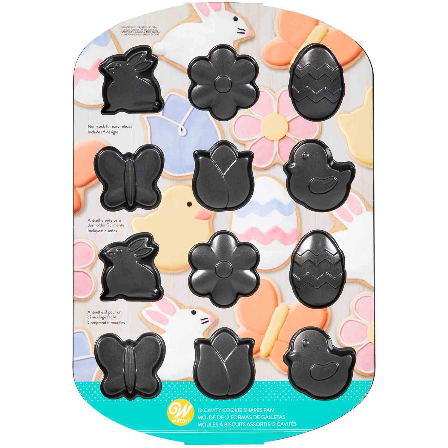 Easter Cookie Shapes Pan