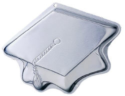 Topping Off Success Graduation Cap Cake Pan