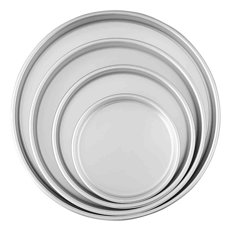 4-Tier Round Cake Pan Set