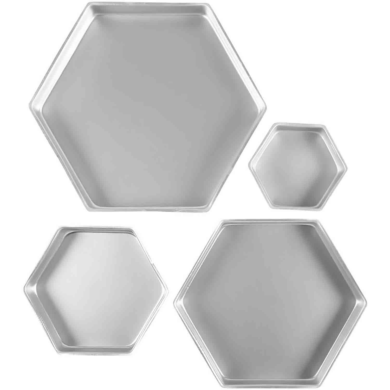 Hexagon Cake Pan Set