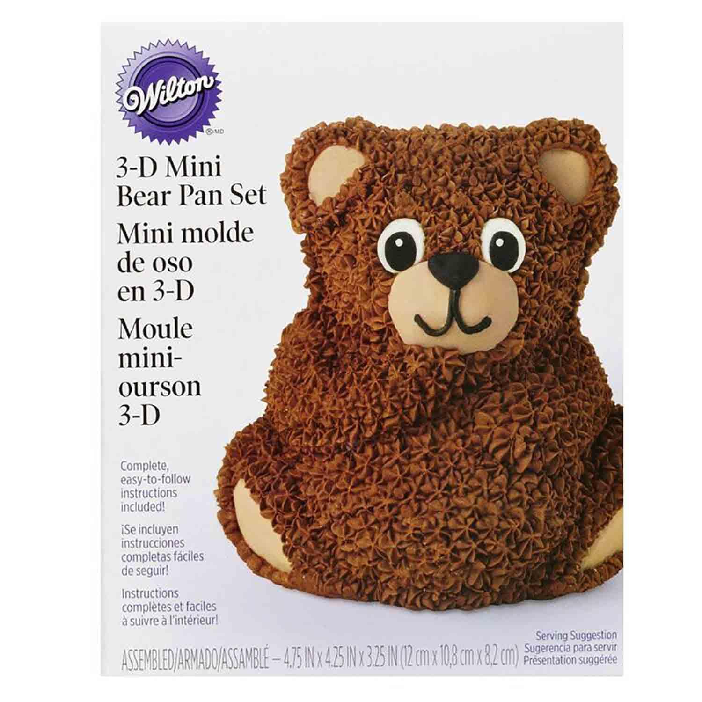 Mini 3D Bear Cake Pan