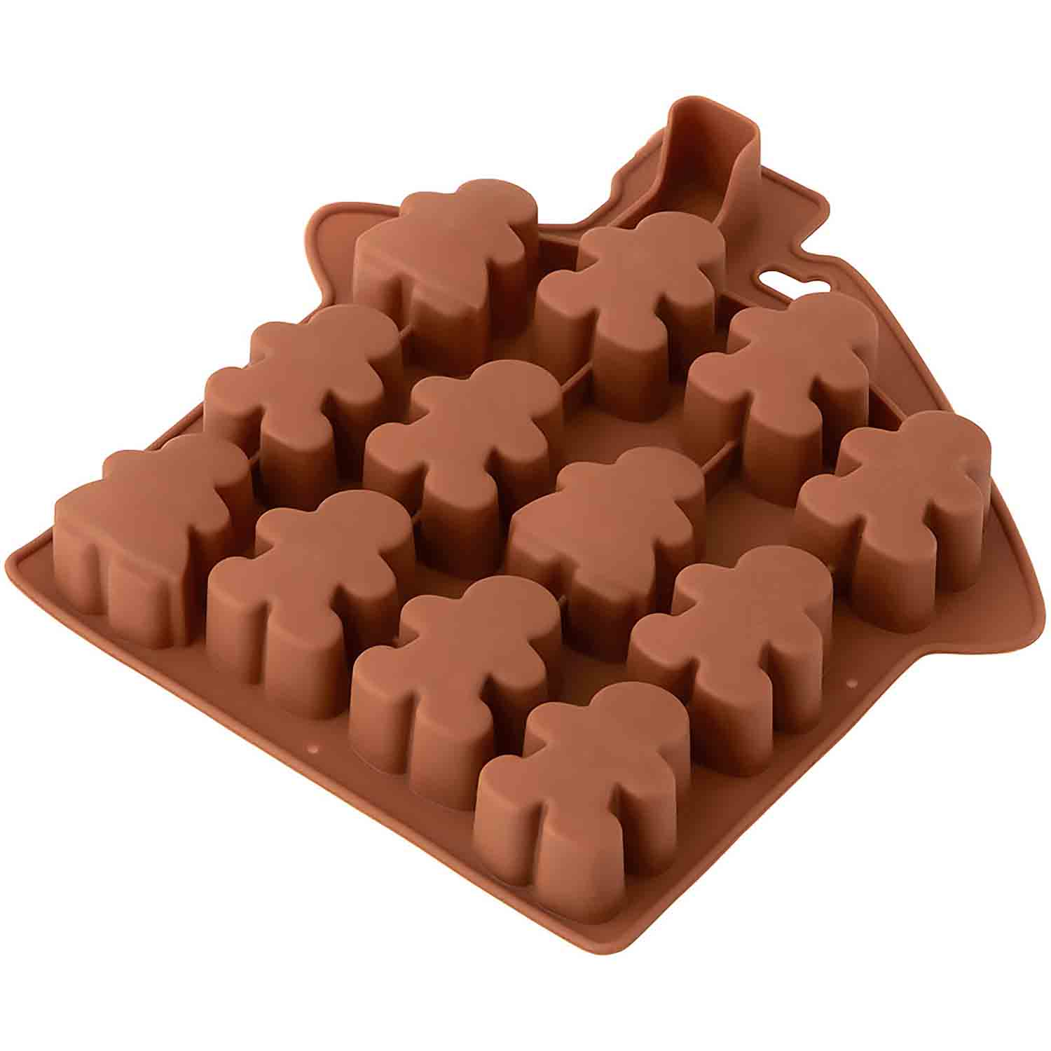 Gingerbread Bite-Size Silicone Mold
