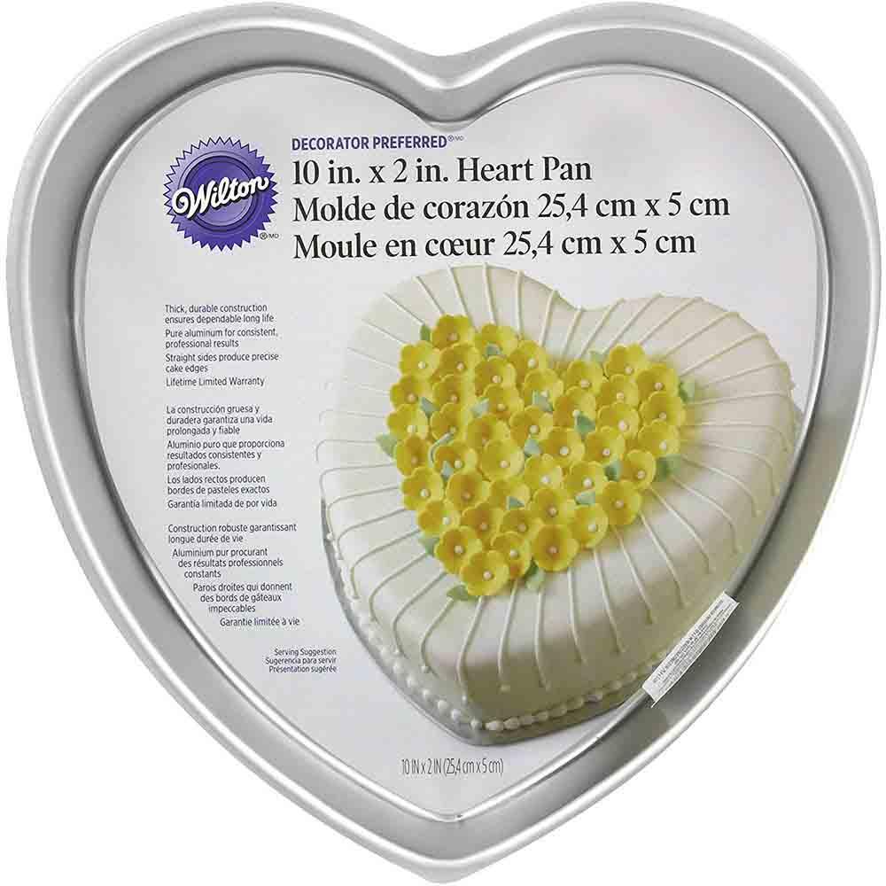"10"" Heart Cake Pan"