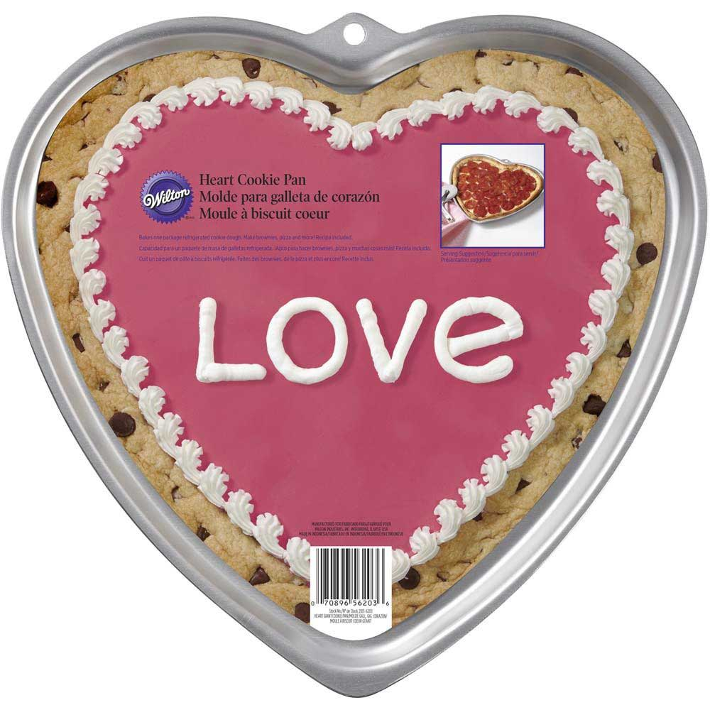 Heart Giant Cookie Pan