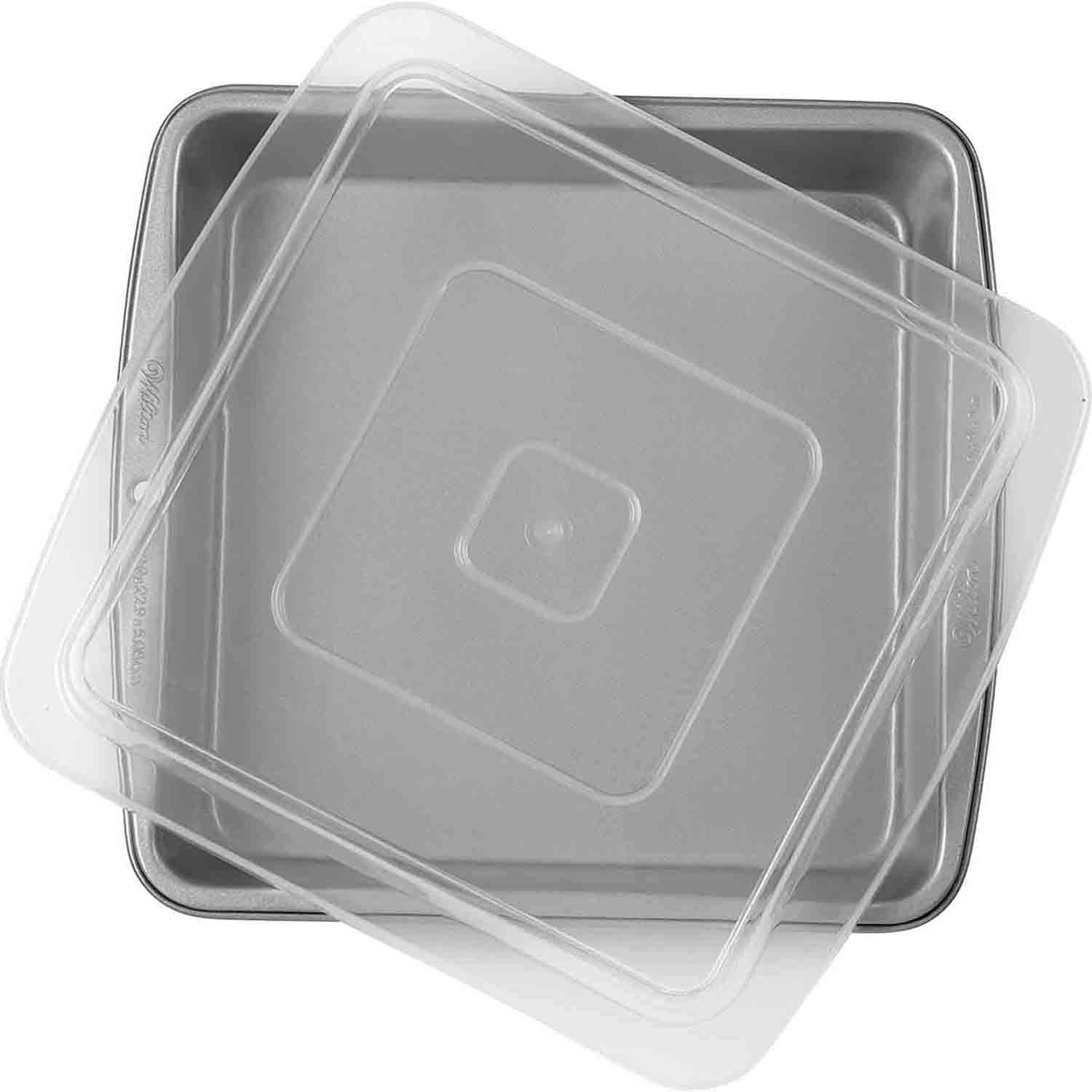 Square Brownie Pan with Cover