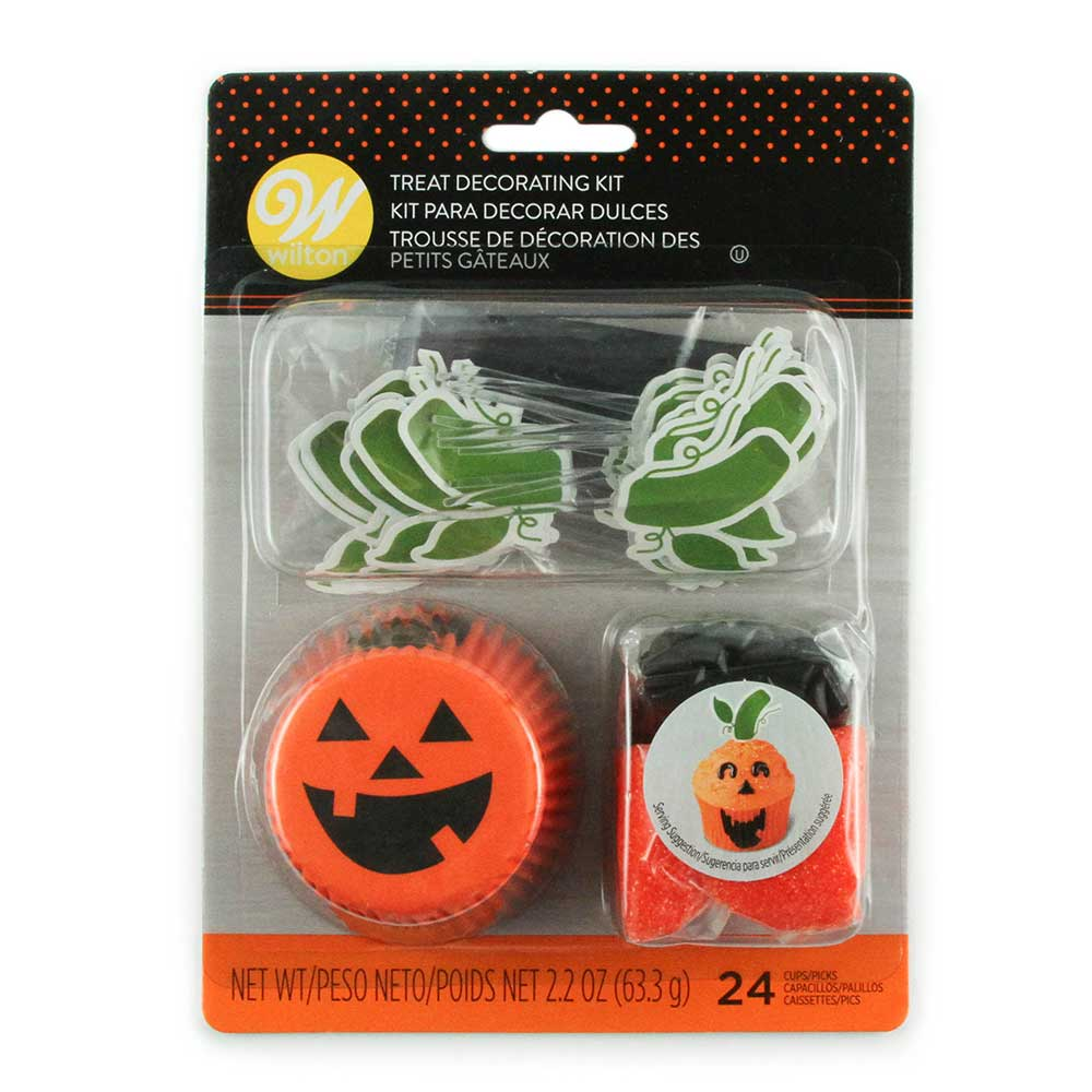 Jack-o-lantern Cupcake Decorating Kit
