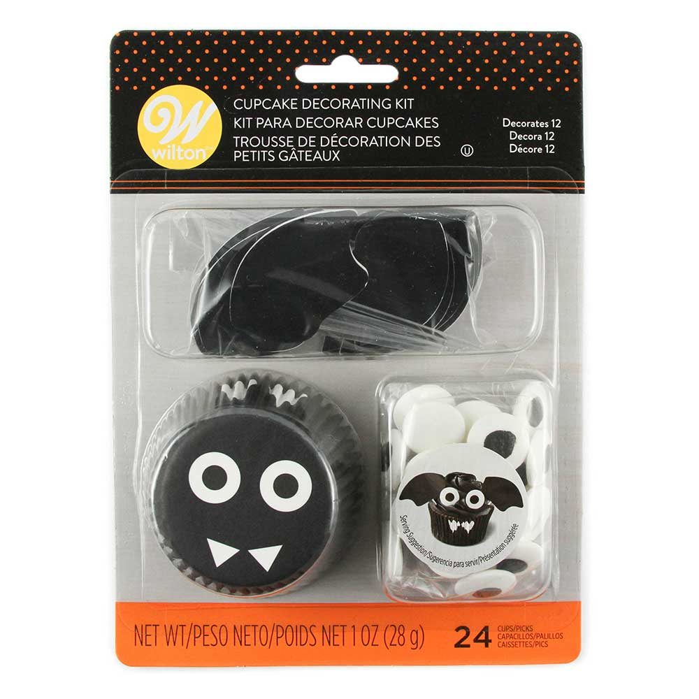 Bat Cupcake Decorating Kit