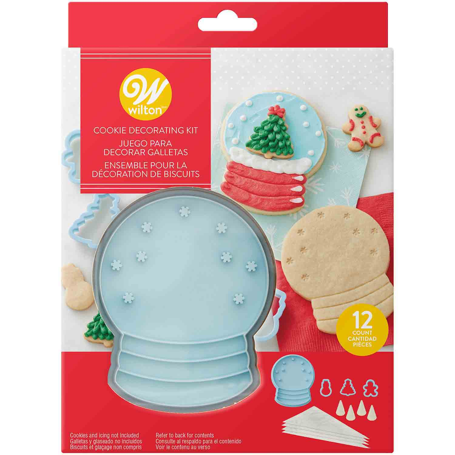 Snowgloabe Cookie Kit