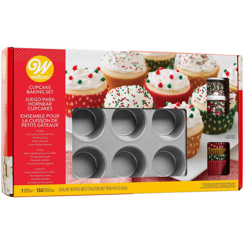 Holiday Cupcake Baking Set