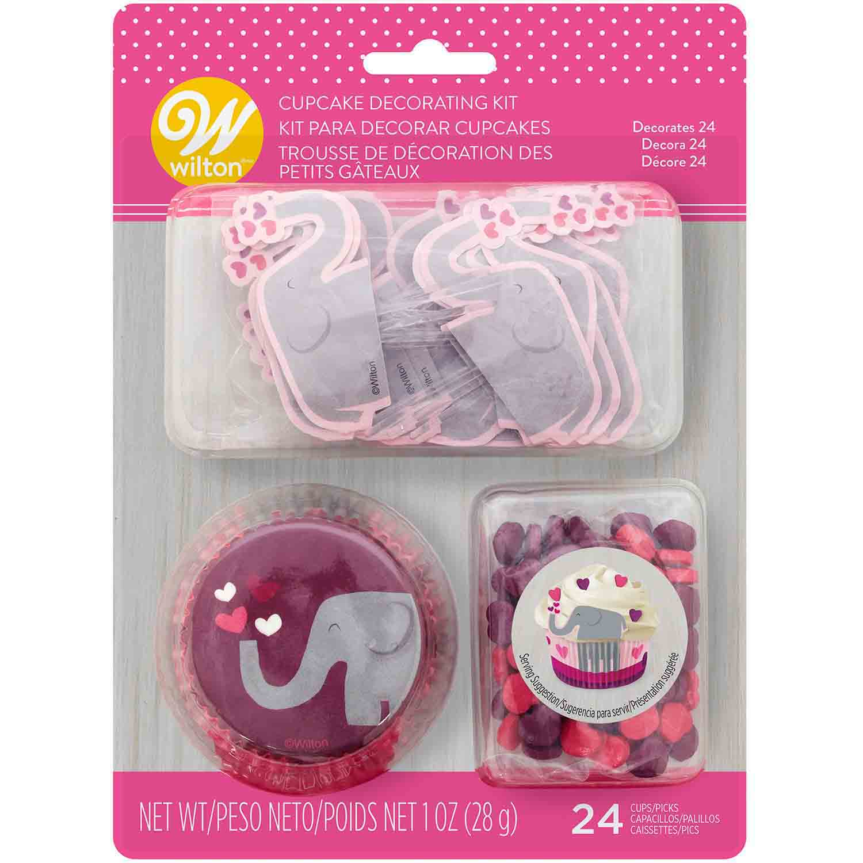 Valentine Elephant Cupcake Decorating Kit