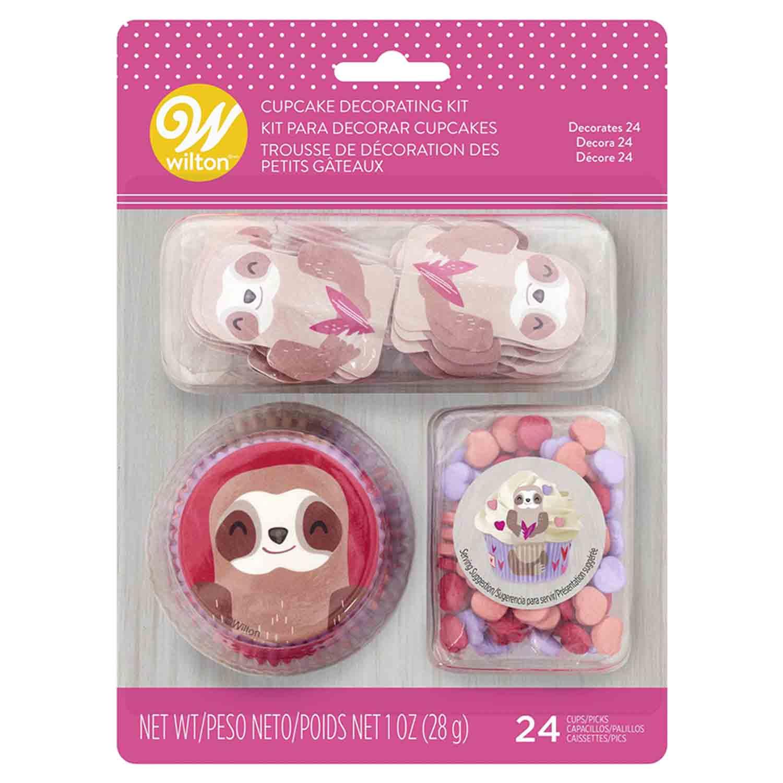 Sloth Cupcake Decorating Kit