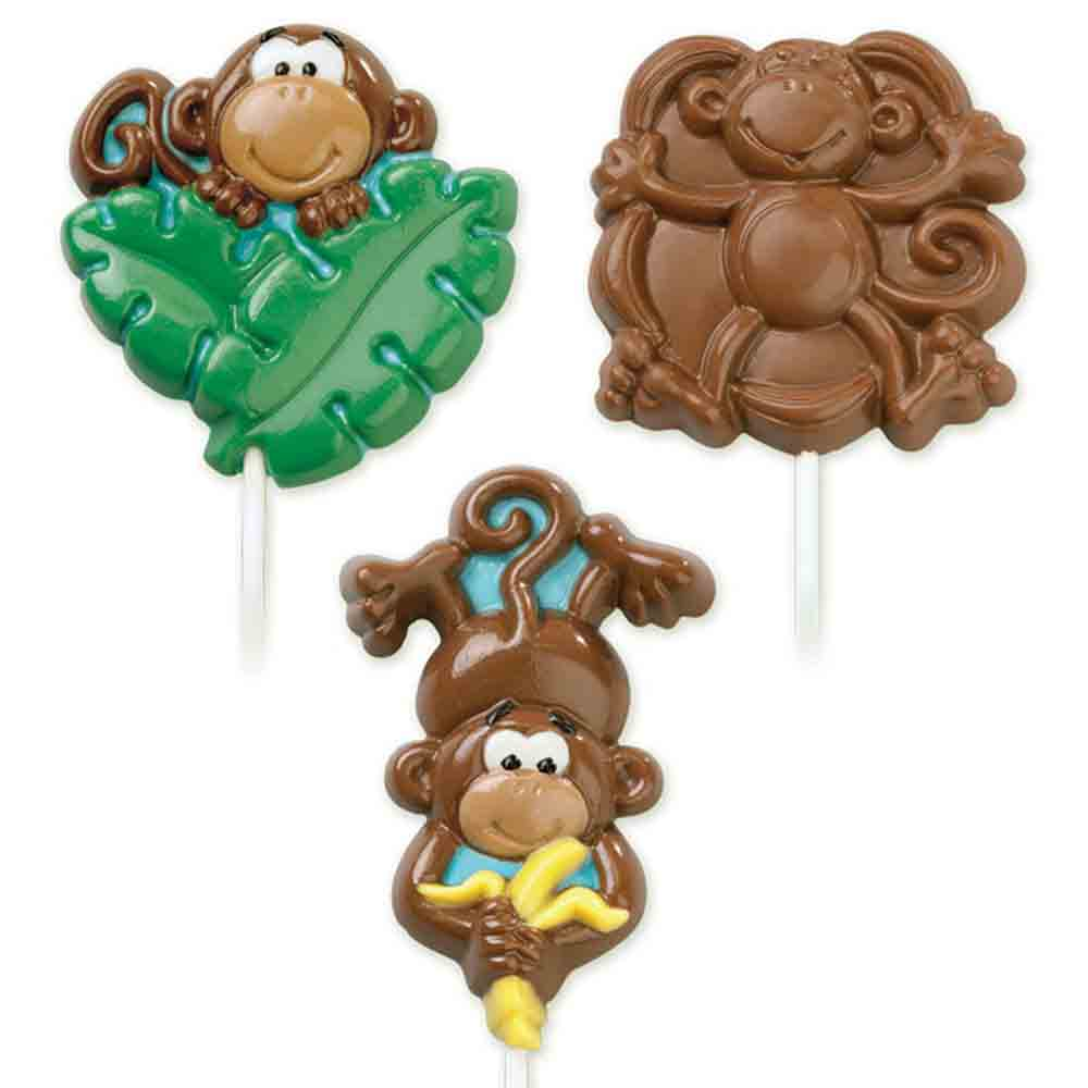 Monkey Sucker Chocolate Candy Mold