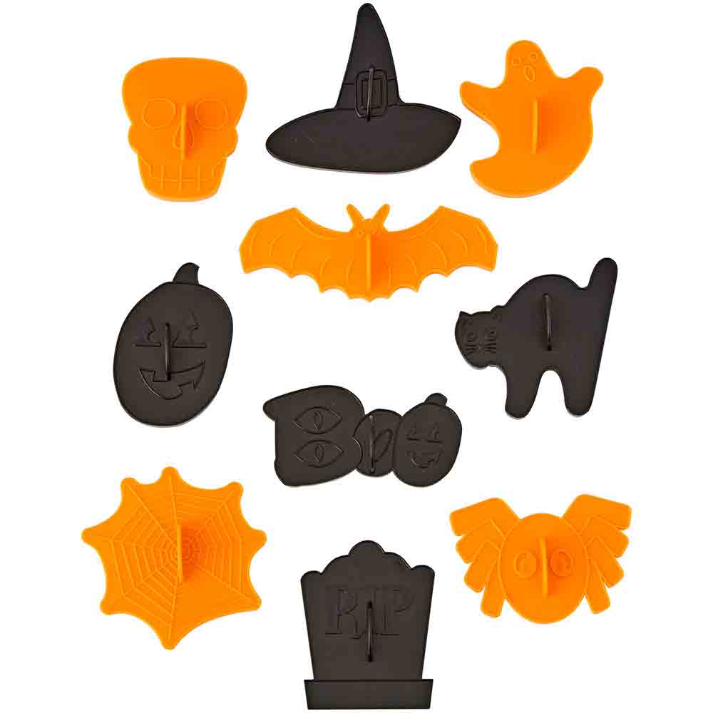 Halloween Cookie Cutter Stamp Set