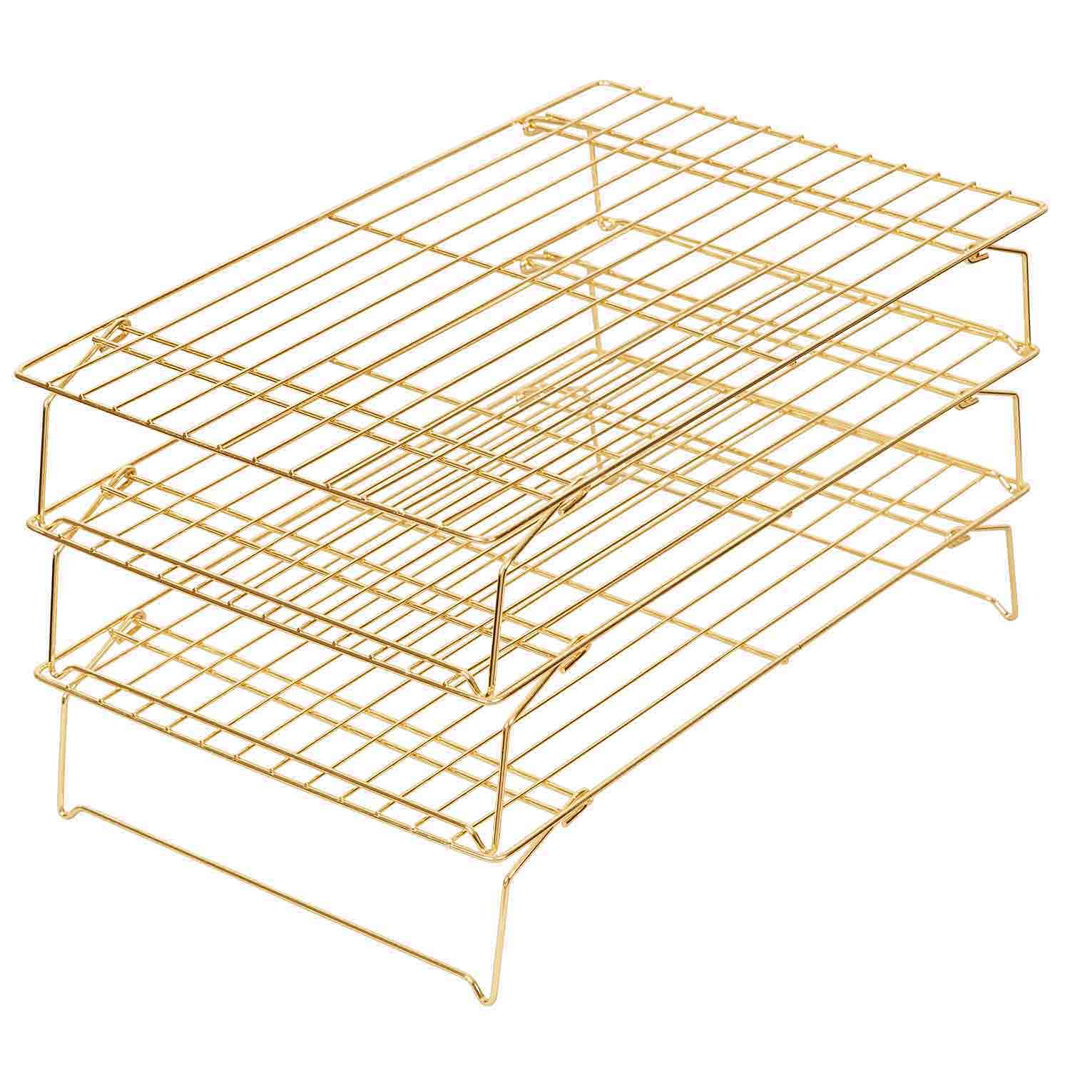 Gold Stacking Cooling Rack