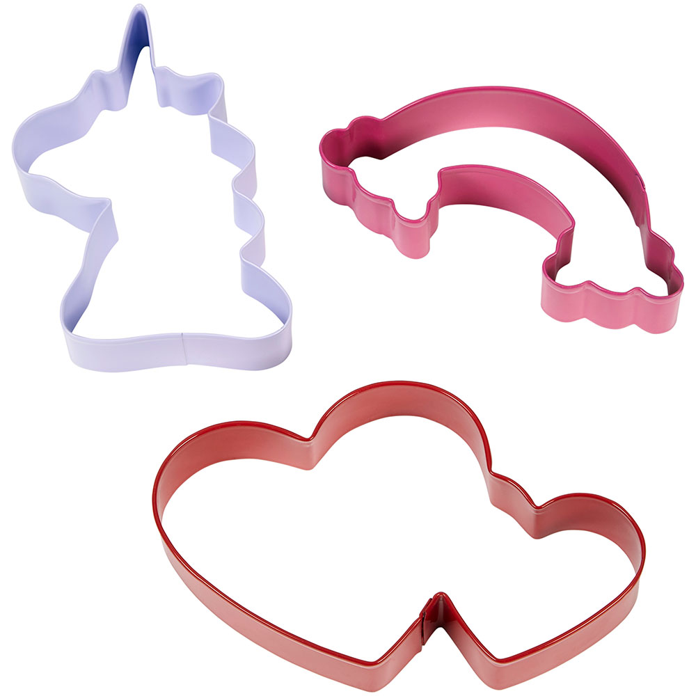 Rainbow Heart Cookie Cutter Set