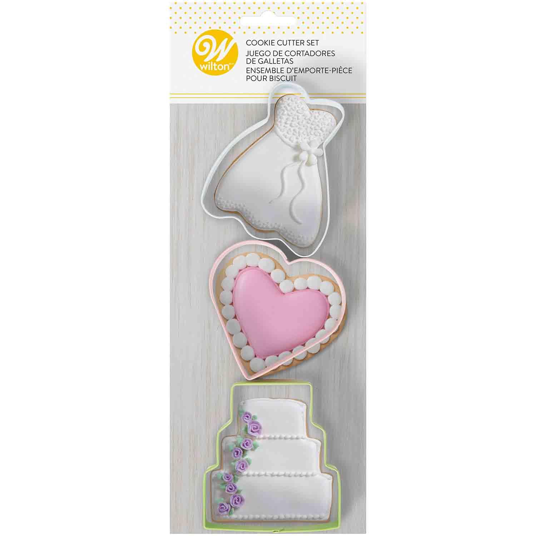 Bridal Cookie Cutter Set