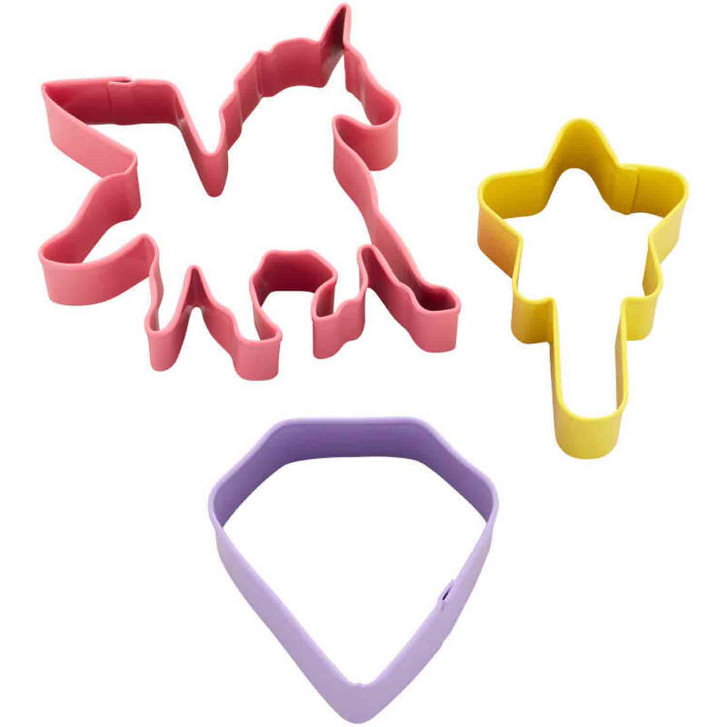 3 pc Magical Birthday Cookie Cutter Set