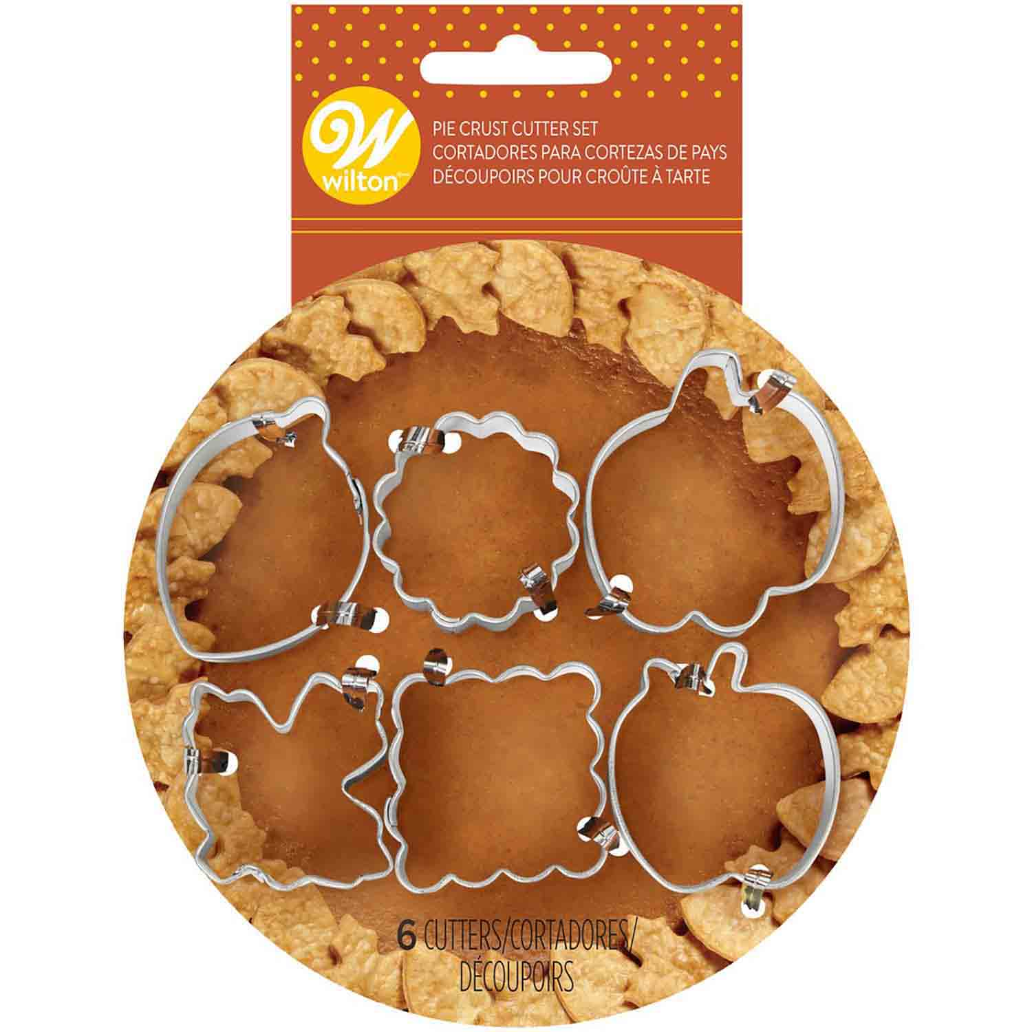 Fall Pie Crust Cutter Set