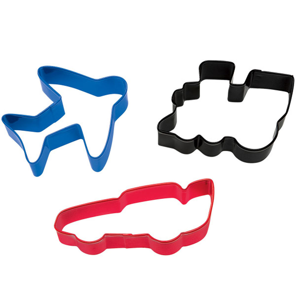 Wheels Cookie Cutter Set