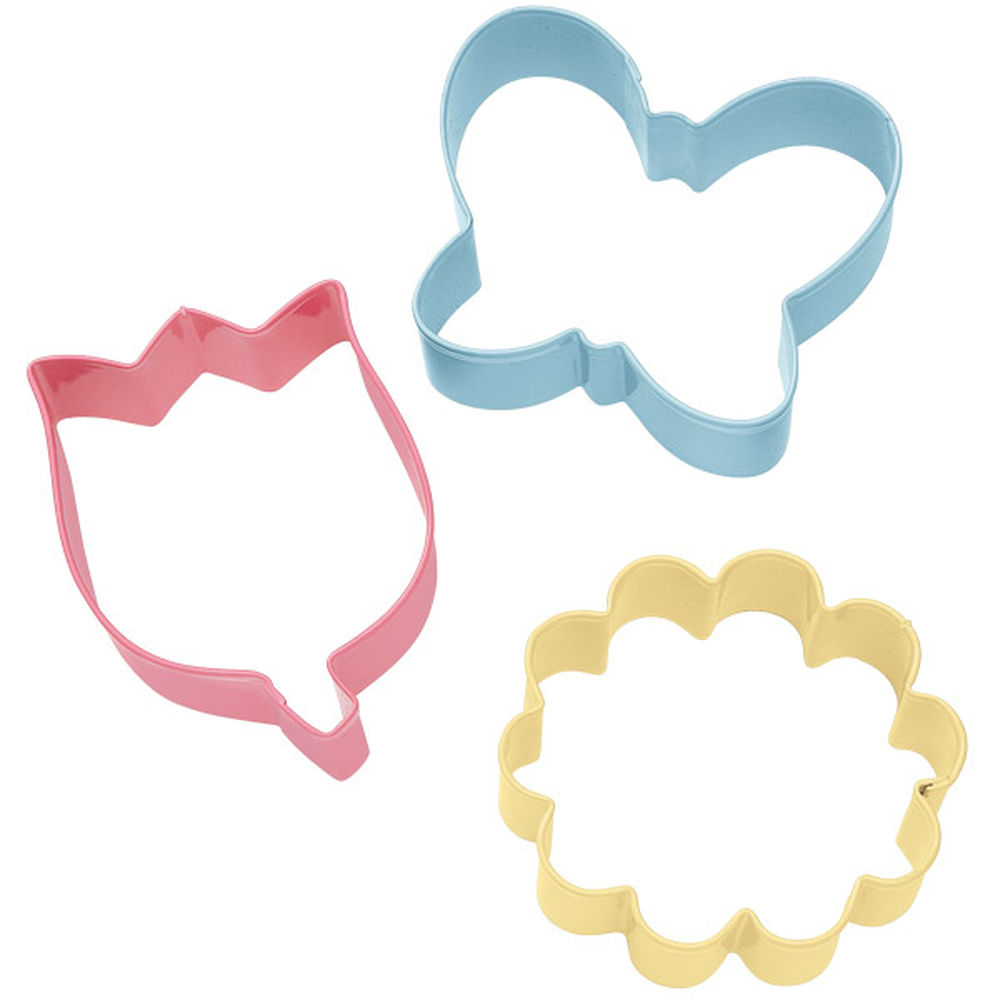 Flower Cookie Cutter Set
