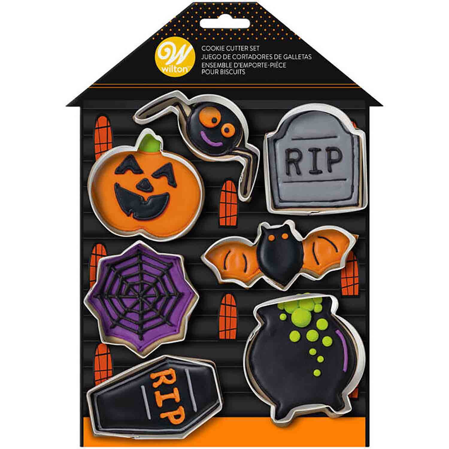 Haunted House Cookie Cutter Set