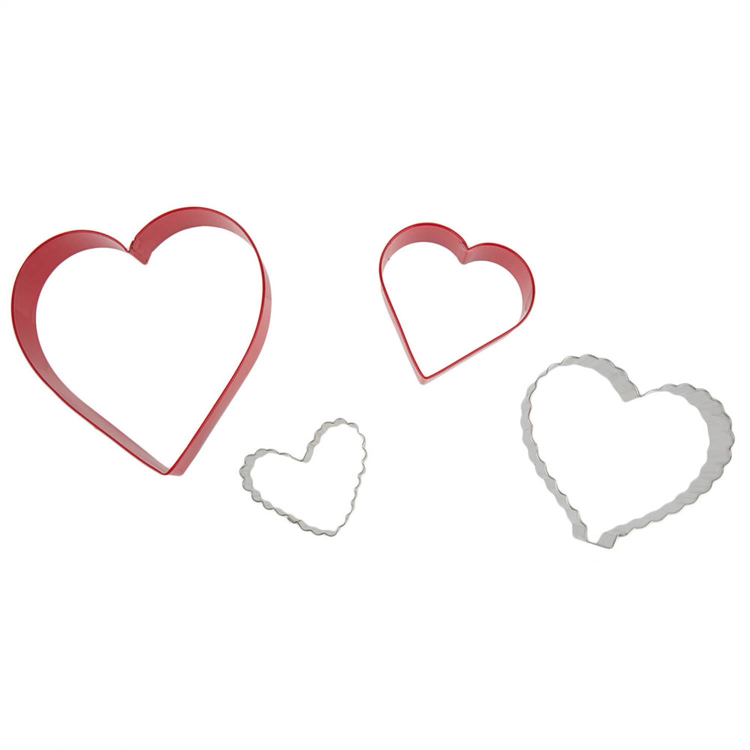 """From the Heart"" Nesting Cookie Cutter Set"
