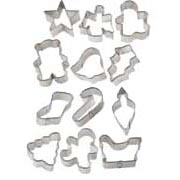 Christmas Metal Cookie Cutter Set