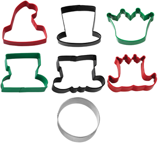 Christmas Character Cookie Cutter Set