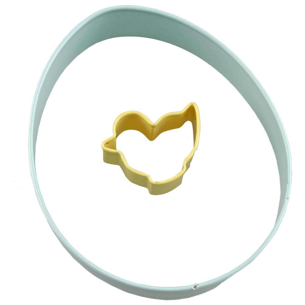 Egg and Chick Cookie Cutter Set