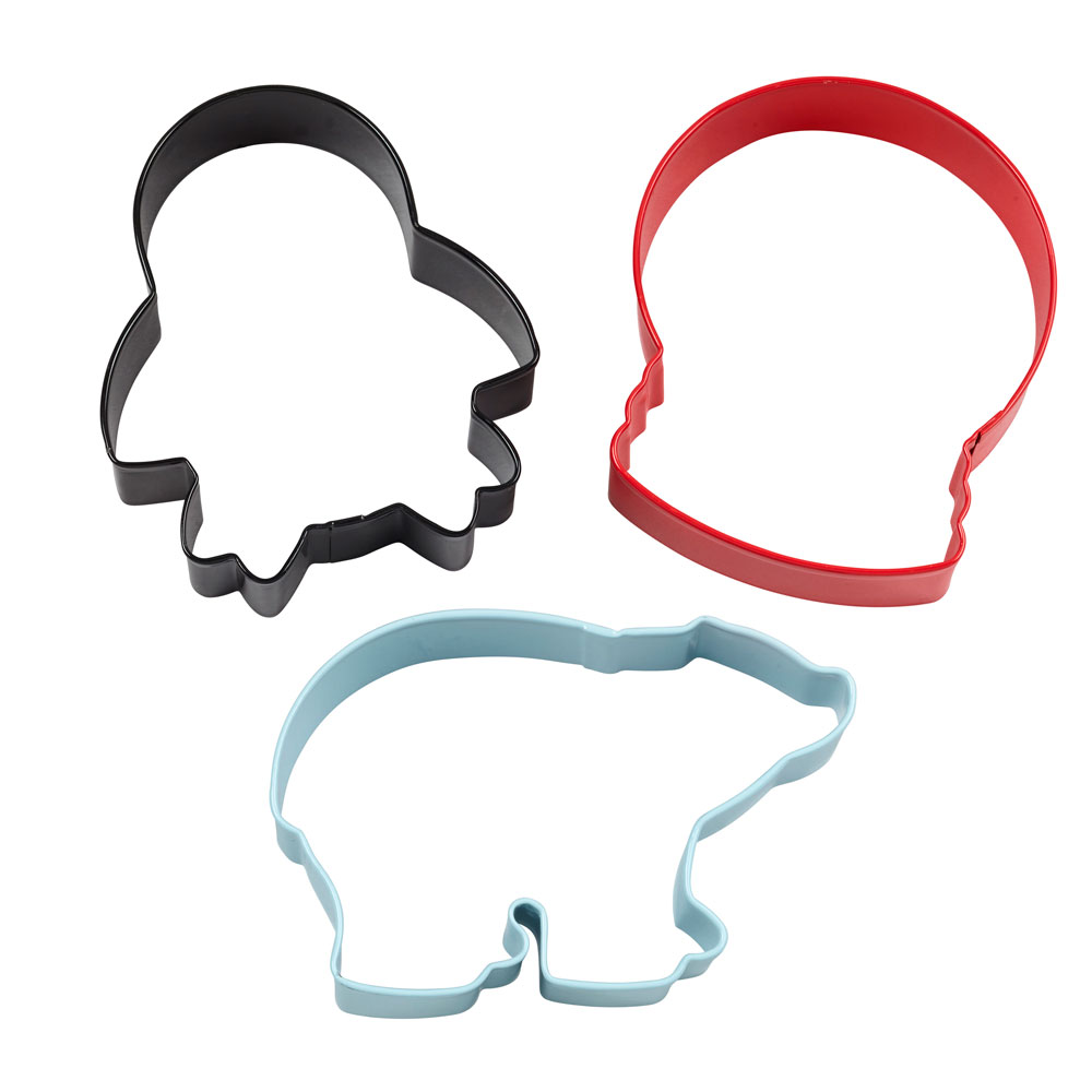 Polar Cookie Cutter Set