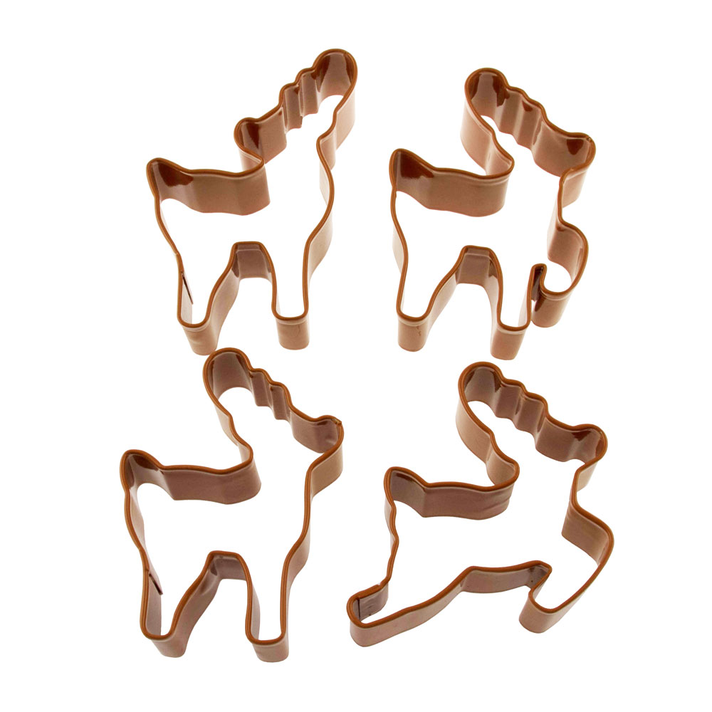 Reindeer Cookie Cutter Set