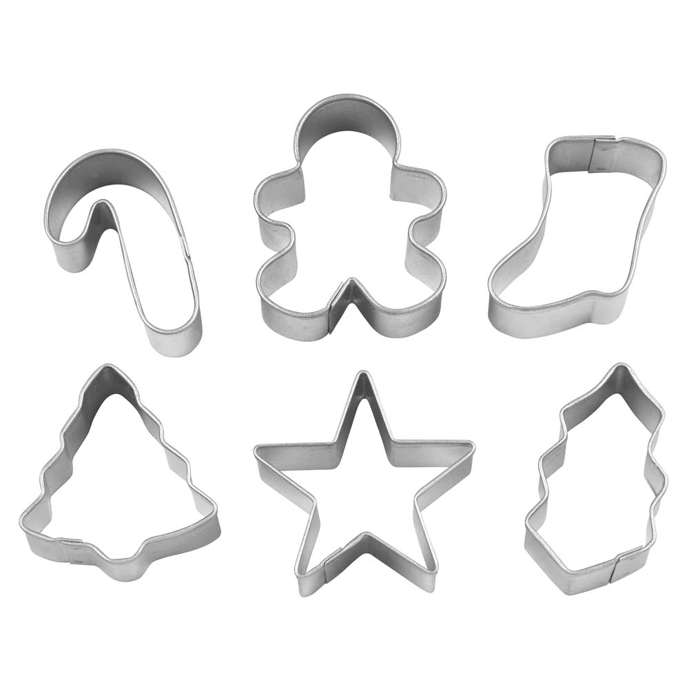 Mini Christmas Cookie Cutter Set - 2308-5076 | Country Kitchen ...