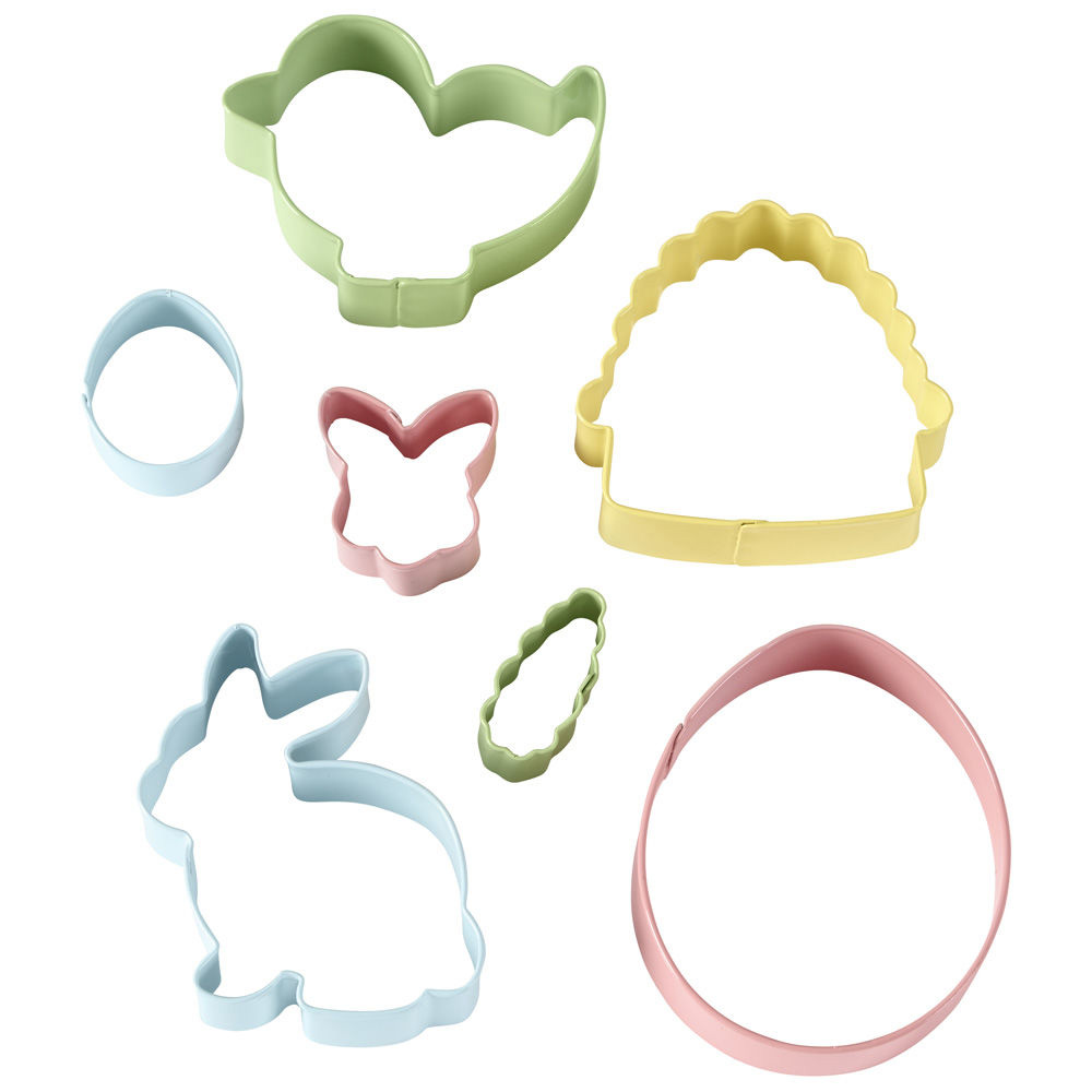Colorful Easter Cookie Cutter Set