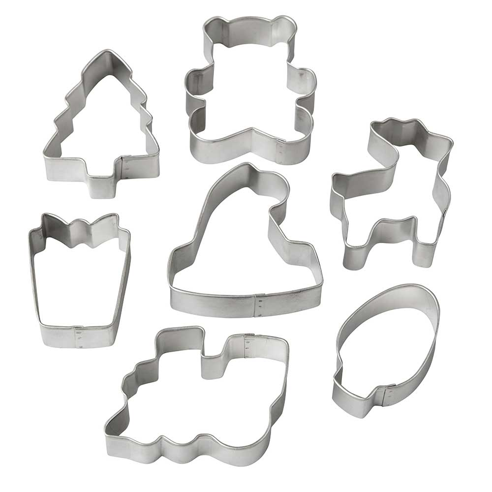 Santa's Workshop Cookie Cutter Set