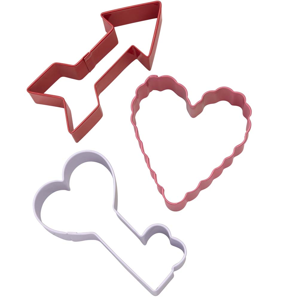Valentine Arrow Cookie Cutter Set