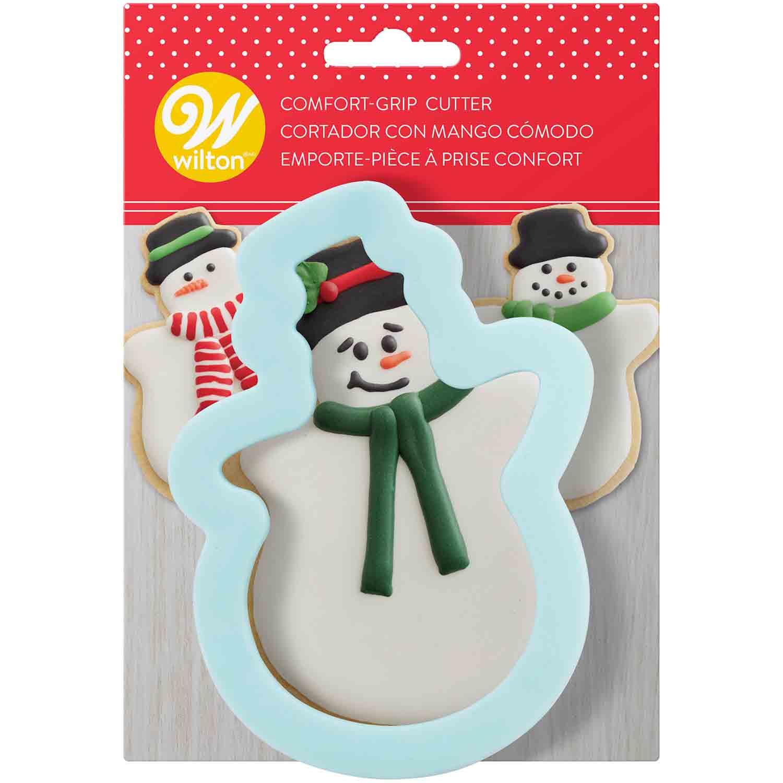 Comfort Grip Snowman Cutter
