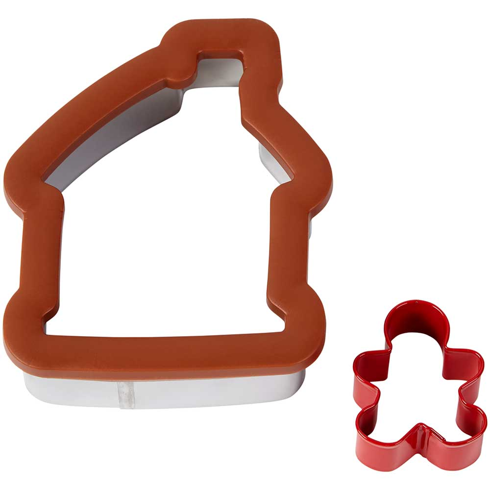 Comfort Grip Gingerbread House Cookie Cutter Set