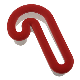 Comfort Grip Candy Cane Cookie Cutter