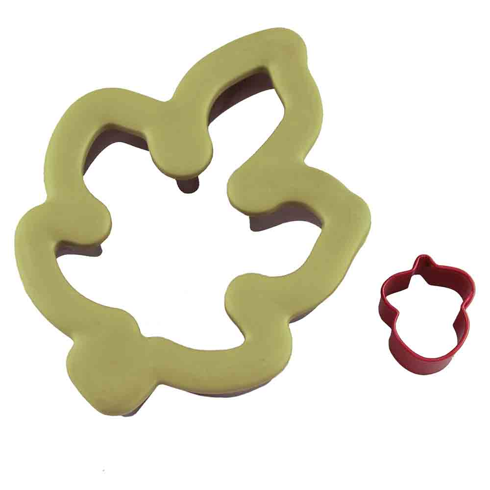 Comfort Grip Leaf and Acorn Cookie Cutter Set