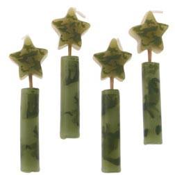 Camouflage Candle Set