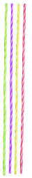 Hot Color Party Thin Candles